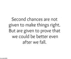 The About In Quotes 2nd Love Chances every